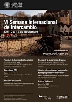 Cartel OPII - Semana Internacional 10-14Nov 2014